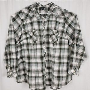 Torrid Plaid Camp Shirt